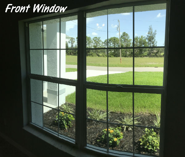 Hansen Home Window view to outside 2018 Built
