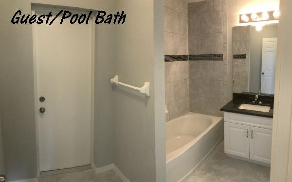 Bathroom photo Hansen Home NE Cape Coral Florida built 2018