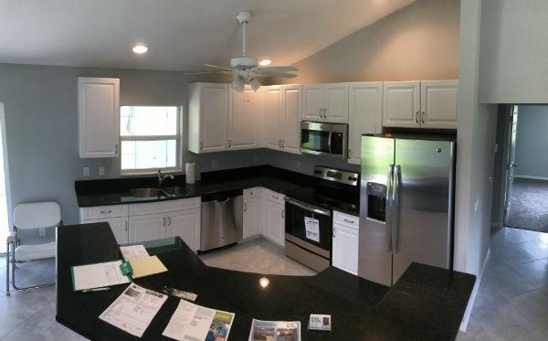 Kitchen Overview Cape Coral New Construction 2018 Built