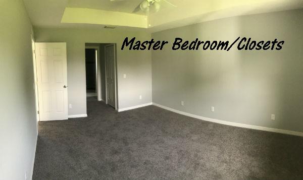 Master Bedroom Photo Hansen built 2018 New Construction
