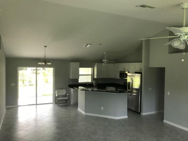 Kitchen Hansen 2018 Built Home NE Cape Coral Florida