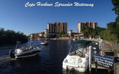 South Spreader Waterway Cape Coral Florida
