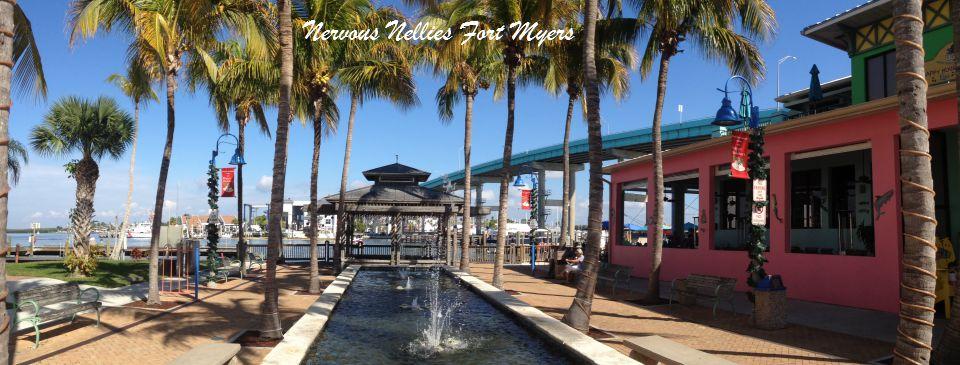 View of Fort Myers Bridge & Nervous Nellies