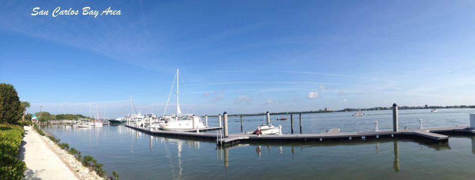 San Carlos Bay at Fort Myers Beach