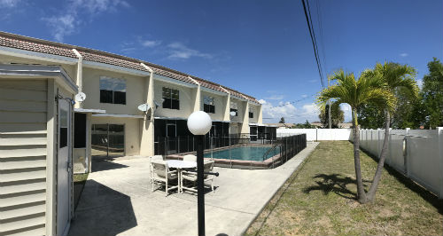 Community Pool at Aurora Townhomes Cape Coral
