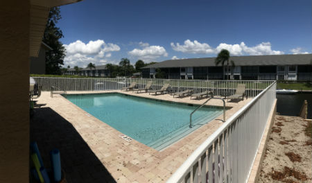 Community Pool at Barclay Bay Condo