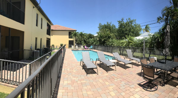 Community Pool at Bellagio Gardens in Cape Coral