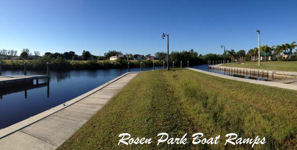 Rosen Park Boat Ramps
