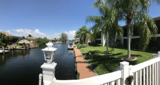 Boating on Gulf Access Canals in SW Cape Coral