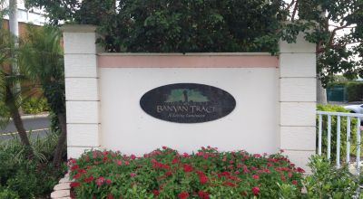 Banyan Trace Entrance