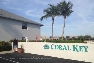 Coral Key Condo Water front Cape Coral