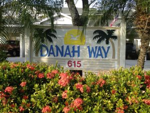 Danah Way Condo Sign