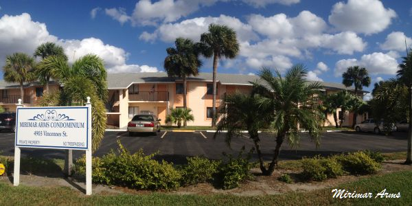 Mirimar Arms Condos For Sale Cape Coral Florida