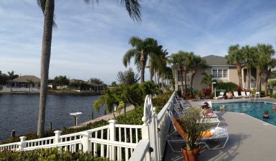 Moorings of Cape Coral View of Canal