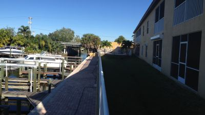 Pelican Marina Cape Coral Waterfront View