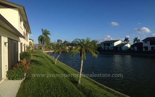 Canal View at Waters Edge of Cape Coral complex