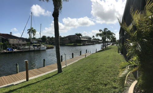 Vernon Canal at Cape Regatta Condo Cape Coral