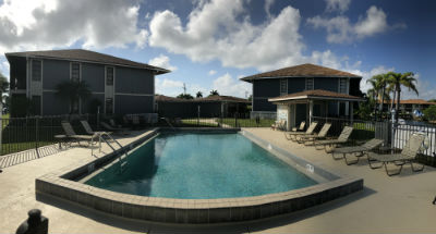 Community Pool at Cape Regatta Condo Cape Coral