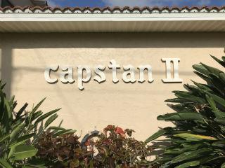 Capstan II Sign on building