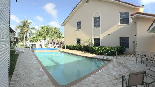 Beautiful Pool at Capstan II Condo complex