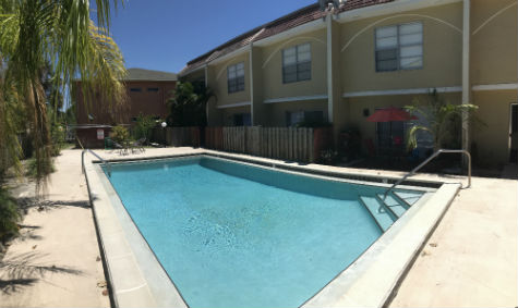 Take a dip in the pool at Coral Bayview I in SW Cape Coral