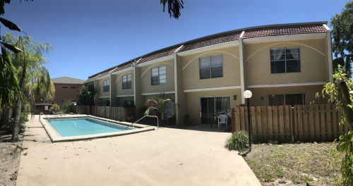 Community Pool at Coral Bayview I in Cape Coral