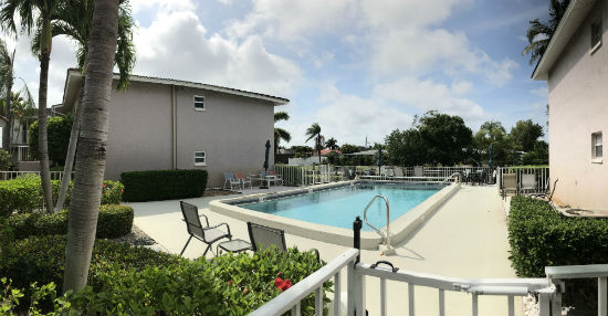 Waterfront Pool at Coral Harbor Cape Coral