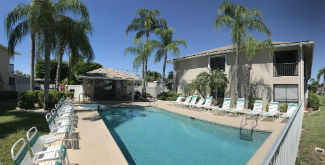 The Community Pool at Dockside Condo Cape Coral