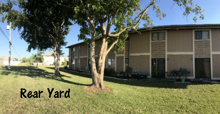 Rear Yard Eagle Side Condo Cape Coral For Sale