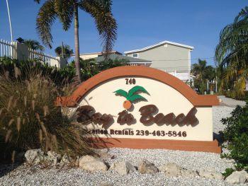Bay To Beach Condo Resort Entrance Sign