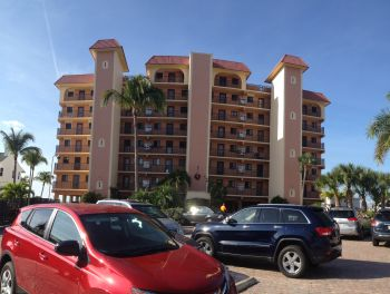 Front View Of Cane Palm Beach Condo