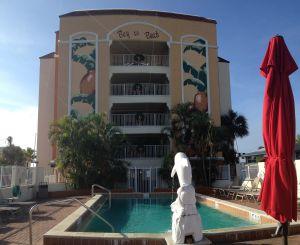 Bay To Beach Condo Resort Pool View