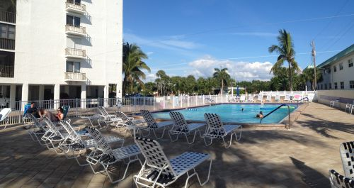 Sunset Condo Pool