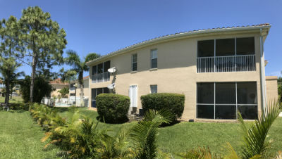Harbour Walk Cape Coral screened in lanais on condos for sale