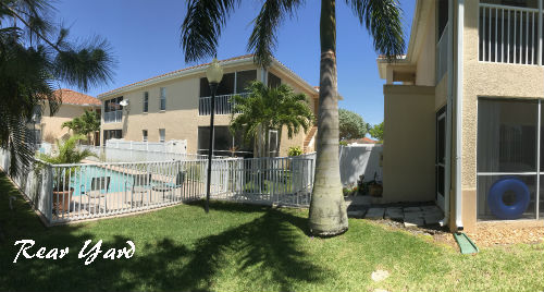 Harbour Walk Cape Coral Rear Yard photo