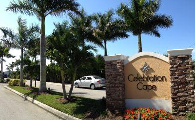 Celebration Cape Entrance Sign