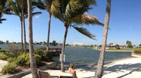 Sandy Beach at Emerald Cove Cape Coral
