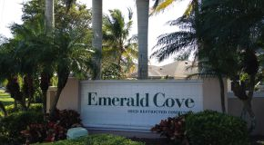 Emerald Cove Cape Coral Sign