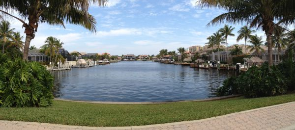 View of the Blackberry Canal Cape Coral