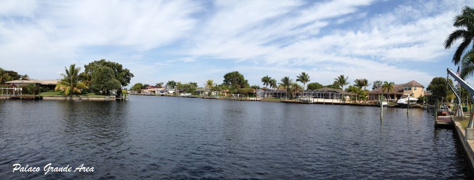 The Del Mar Canal South at Palaco Grande Cape Coral