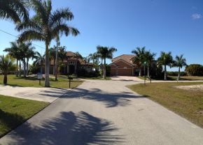 Sands Estates Cape Coral Neighborhood
