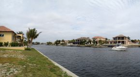 View of the Casaba Canal Cape Coral