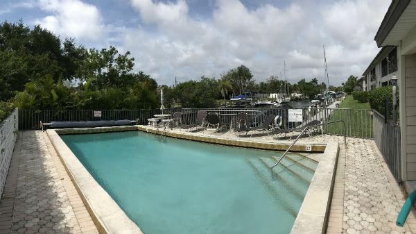 Community Pool at the Monte Carlo Condo in Cape Coral