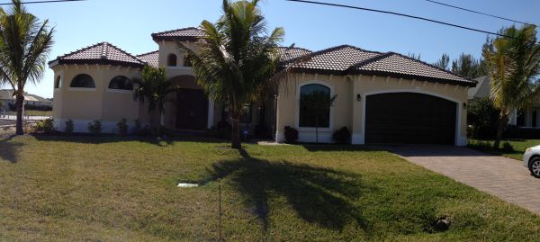 Fresh Water Canal New Construction Home in SW Cape Coral