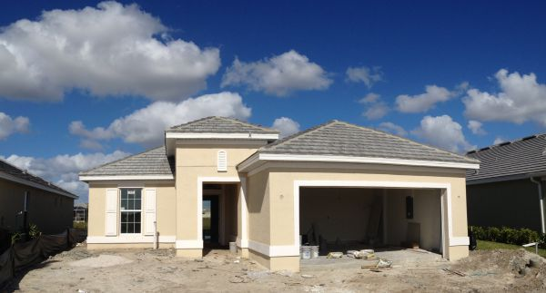 New Home being built in Sandoval Cape Coral