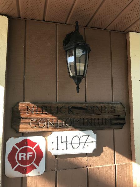Niblick Pines Marque Sign in Cape Coral