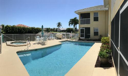 Palmtation Condo II Pool and Hot Tub