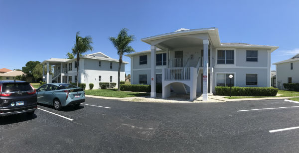 Condos for sale along Chiquita Blvd South in SW Cape Coral Florida