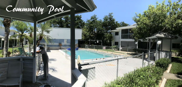 Community Pool at Parkway Village Cape Coral
