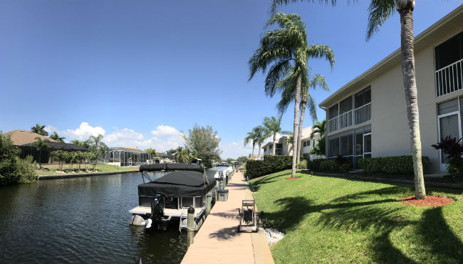 Waterfront living at Pointe Coral Condo in Cape Coral